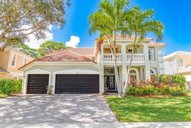 190 Lone Pine Drive, Palm Beach Gardens, FL 33410 (#RX-10646316) :: Ryan Jennings Group