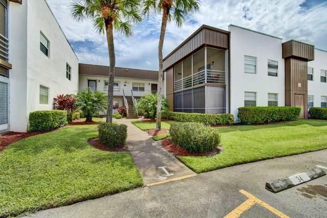 402 Piedmont I, Delray Beach, FL 33484 (MLS #RX-10646377) :: Laurie Finkelstein Reader Team