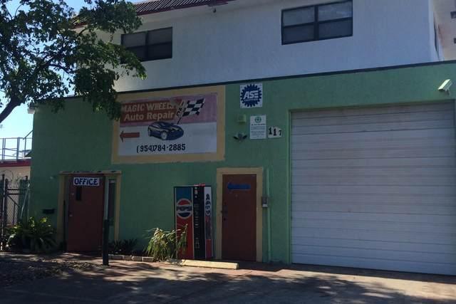 117 NW Address Not Published Street, Pompano Beach, FL 33060 (MLS #RX-10646627) :: Berkshire Hathaway HomeServices EWM Realty