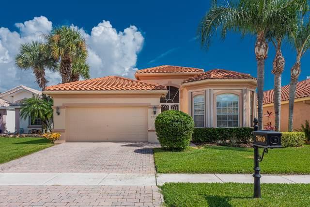 7809 Campania Drive, Boynton Beach, FL 33472 (MLS #RX-10646983) :: United Realty Group