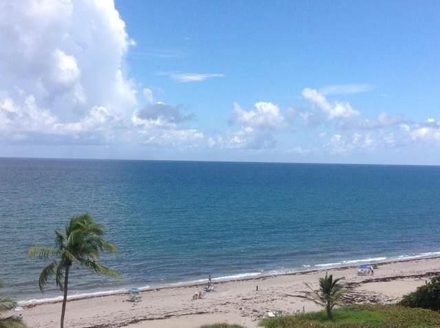 3301 S Ocean Boulevard #603, Highland Beach, FL 33487 (MLS #RX-10647096) :: Miami Villa Group