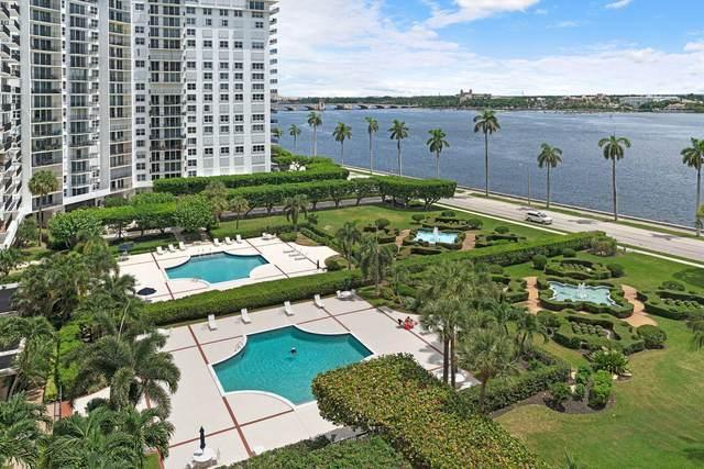 1801 S Flagler Drive #907, West Palm Beach, FL 33401 (MLS #RX-10647148) :: Castelli Real Estate Services