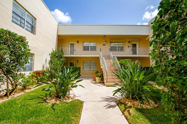 310 Normandy G, Delray Beach, FL 33484 (MLS #RX-10647821) :: Berkshire Hathaway HomeServices EWM Realty