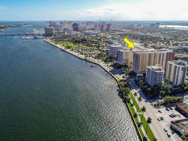 1551 N Flagler Drive Ph U17, West Palm Beach, FL 33401 (MLS #RX-10647865) :: Berkshire Hathaway HomeServices EWM Realty