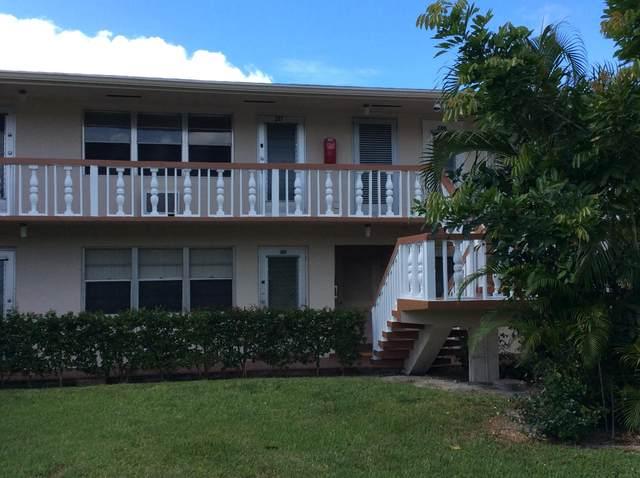 207 Dorchester I, West Palm Beach, FL 33417 (MLS #RX-10648040) :: Berkshire Hathaway HomeServices EWM Realty