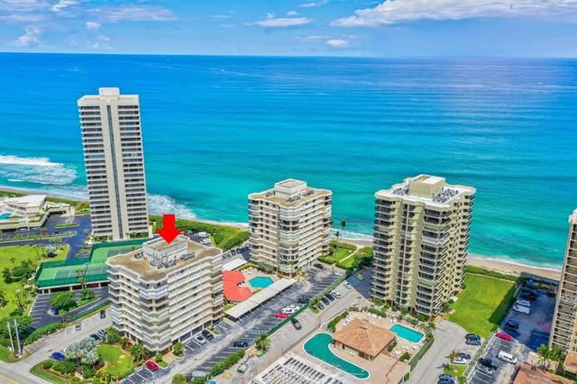 5480 N Ocean Drive B 1B, Singer Island, FL 33404 (#RX-10648589) :: Baron Real Estate