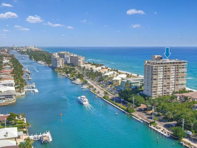 1021 Hillsboro Mile #203, Hillsboro Beach, FL 33062 (#RX-10648794) :: Posh Properties