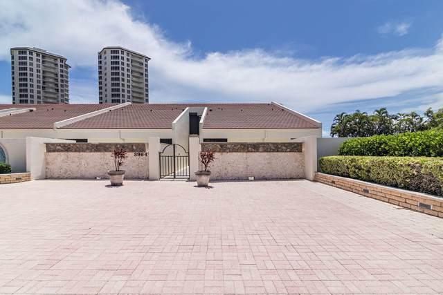 3962 N Ocean Drive #10, Singer Island, FL 33404 (#RX-10649652) :: Posh Properties