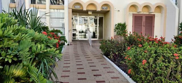 601 Three Islands Boulevard #106, Hallandale Beach, FL 33009 (#RX-10650061) :: Ryan Jennings Group