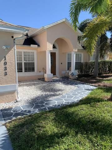 1033 SW Haleyberry Avenue, Port Saint Lucie, FL 34953 (#RX-10650112) :: The Reynolds Team/ONE Sotheby's International Realty