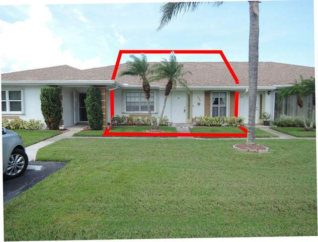 1210 S Lakes End Drive Apt B, Fort Pierce, FL 34982 (MLS #RX-10650767) :: Berkshire Hathaway HomeServices EWM Realty