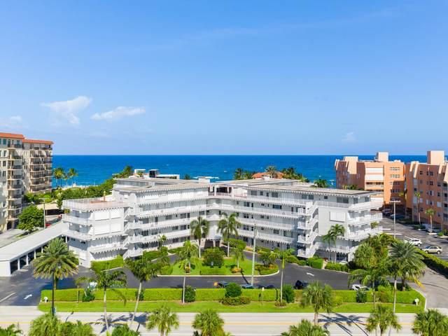 3500 S Ocean Boulevard #311, South Palm Beach, FL 33480 (MLS #RX-10651006) :: Berkshire Hathaway HomeServices EWM Realty