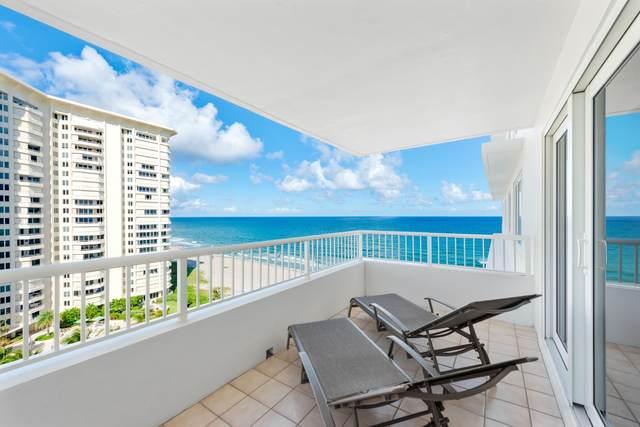 600 S Ocean Boulevard #1107, Boca Raton, FL 33432 (#RX-10651055) :: Posh Properties