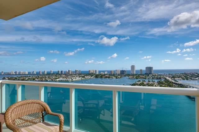 2640 Lake Shore Drive 2412 Penthouse, Riviera Beach, FL 33404 (#RX-10651228) :: Dalton Wade