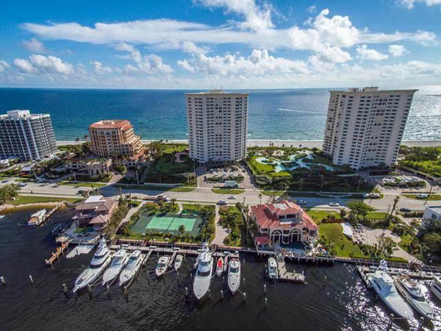550 S Ocean Boulevard #805, Boca Raton, FL 33432 (MLS #RX-10651351) :: Berkshire Hathaway HomeServices EWM Realty