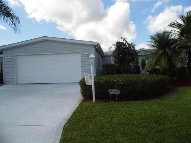 3045 Eagle's Nest Way, Port Saint Lucie, FL 34952 (MLS #RX-10651384) :: Berkshire Hathaway HomeServices EWM Realty