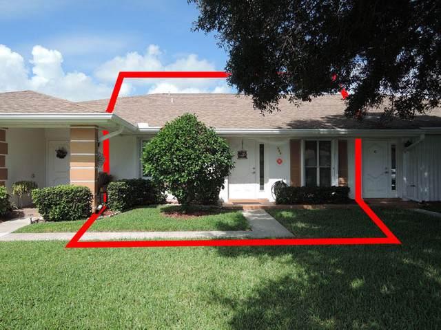 525 Crooked Lake Lane Apt B, Fort Pierce, FL 34982 (MLS #RX-10651572) :: Berkshire Hathaway HomeServices EWM Realty