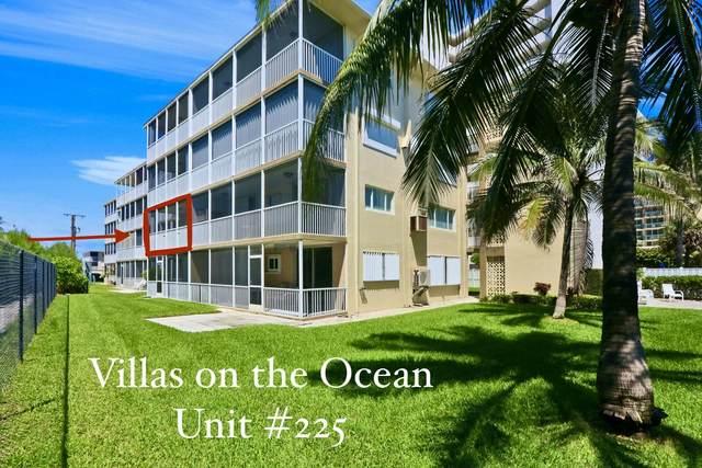 3600 N Ocean Drive #225, Riviera Beach, FL 33404 (#RX-10651909) :: Signature International Real Estate