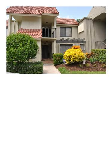 5757 Fairway Park Court #103, Boynton Beach, FL 33437 (MLS #RX-10651911) :: Berkshire Hathaway HomeServices EWM Realty