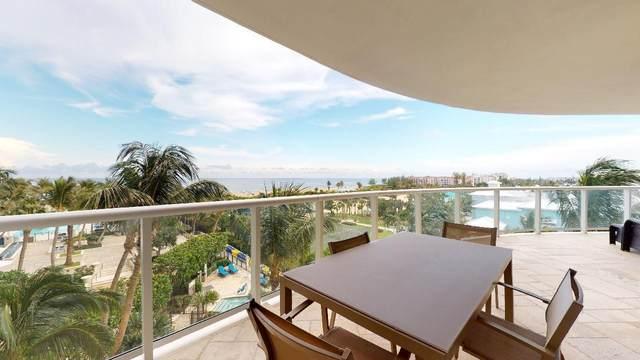 2700 N Ocean Drive 404B, Singer Island, FL 33404 (MLS #RX-10652162) :: Berkshire Hathaway HomeServices EWM Realty