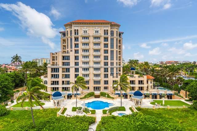400 S Ocean Boulevard #16, Boca Raton, FL 33432 (#RX-10652219) :: Posh Properties