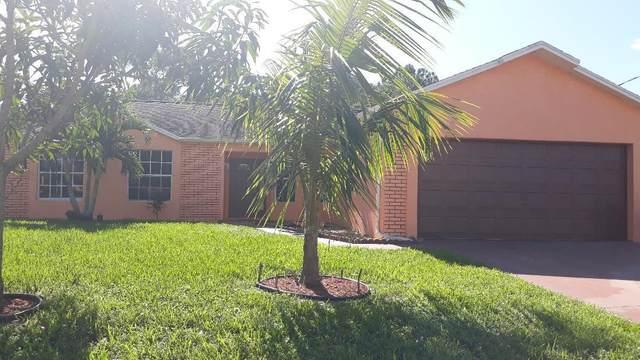150 SW Kestor Drive, Port Saint Lucie, FL 34953 (MLS #RX-10652290) :: Berkshire Hathaway HomeServices EWM Realty