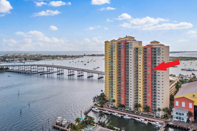 2650 Lake Shore Drive #1502, Riviera Beach, FL 33404 (#RX-10652690) :: Posh Properties
