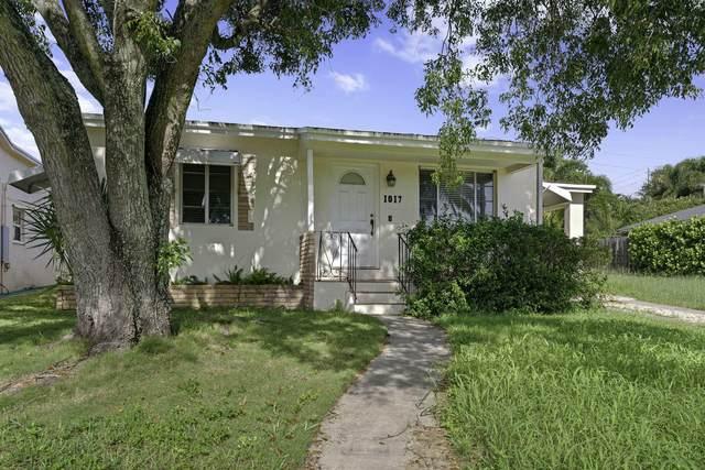 1017 N B Street, Lake Worth Beach, FL 33460 (MLS #RX-10652698) :: Berkshire Hathaway HomeServices EWM Realty