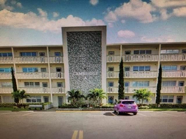 4011 Cambridge A, Deerfield Beach, FL 33442 (#RX-10653103) :: Posh Properties