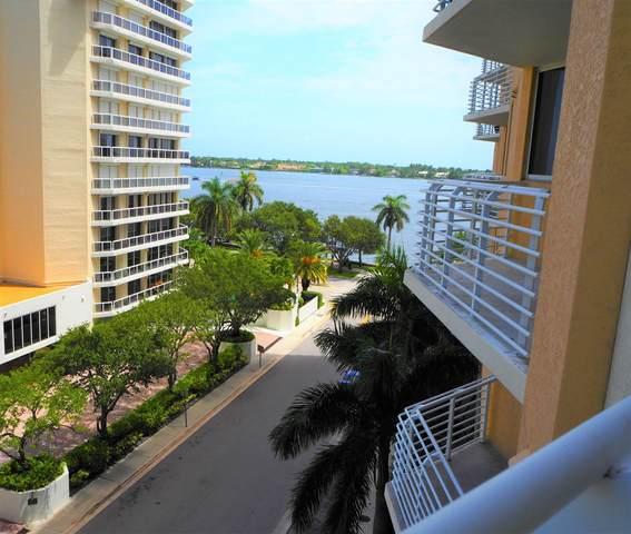 1551 N Flagler Drive #605, West Palm Beach, FL 33401 (#RX-10654015) :: Posh Properties