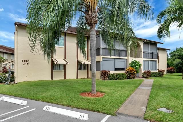 5861 La Pinata Boulevard B-1, Greenacres, FL 33463 (MLS #RX-10654141) :: Berkshire Hathaway HomeServices EWM Realty