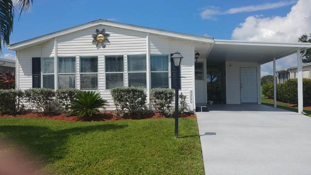 3320 Ironwood Avenue, Port Saint Lucie, FL 34952 (MLS #RX-10654378) :: Berkshire Hathaway HomeServices EWM Realty