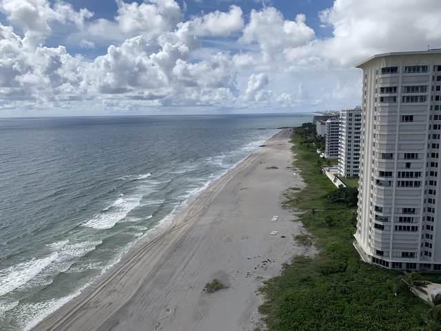 500 S Ocean Boulevard #1902, Boca Raton, FL 33432 (MLS #RX-10654384) :: Berkshire Hathaway HomeServices EWM Realty