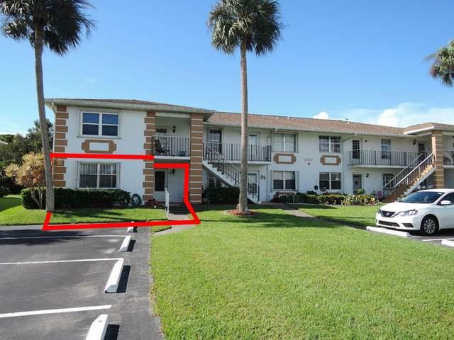 1203 S Lakes End Drive A-1, Fort Pierce, FL 34982 (MLS #RX-10654611) :: Berkshire Hathaway HomeServices EWM Realty