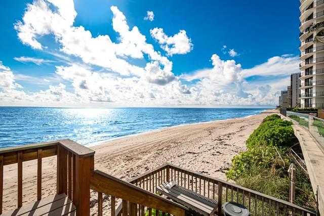 5440 N Ocean Drive #601, Singer Island, FL 33404 (MLS #RX-10654689) :: Berkshire Hathaway HomeServices EWM Realty