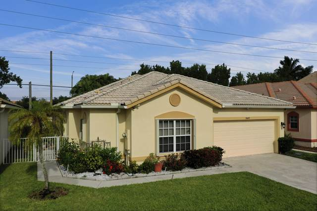 7607 Colony Lake Drive, Boynton Beach, FL 33436 (MLS #RX-10655190) :: Berkshire Hathaway HomeServices EWM Realty