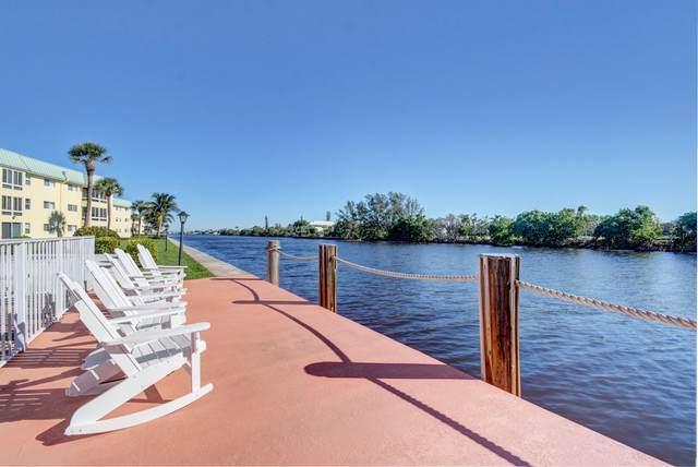 14 Colonial Club Drive #305, Boynton Beach, FL 33435 (#RX-10655404) :: Posh Properties