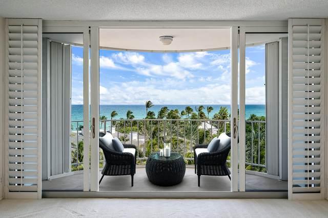 2295 S Ocean Boulevard #808, Palm Beach, FL 33480 (#RX-10655412) :: Ryan Jennings Group