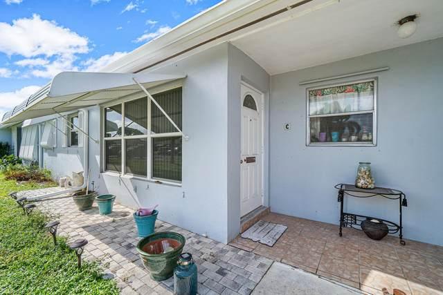 285 Main Boulevard C, Boynton Beach, FL 33435 (MLS #RX-10655444) :: Berkshire Hathaway HomeServices EWM Realty