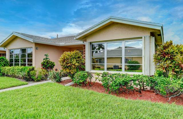 14692 Canalview Drive D, Delray Beach, FL 33484 (MLS #RX-10655724) :: Berkshire Hathaway HomeServices EWM Realty