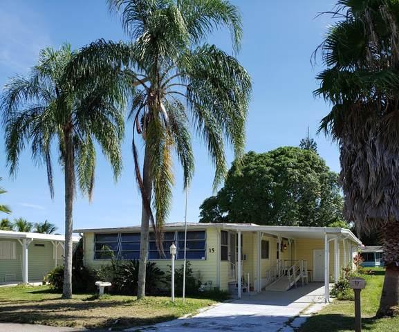 15 El Camino Real, Port Saint Lucie, FL 34952 (MLS #RX-10655748) :: Berkshire Hathaway HomeServices EWM Realty