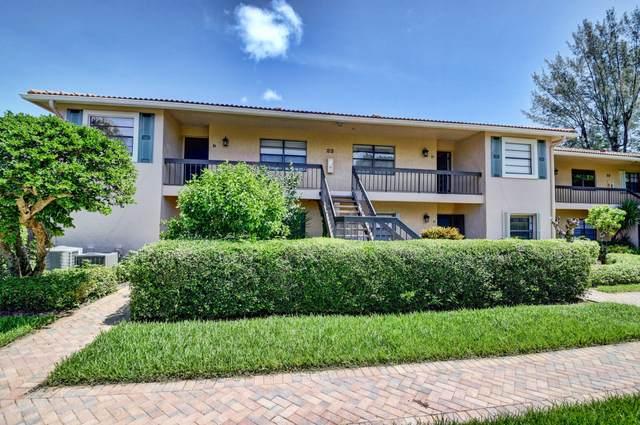 23 Southport Lane D, Boynton Beach, FL 33436 (MLS #RX-10655940) :: Berkshire Hathaway HomeServices EWM Realty