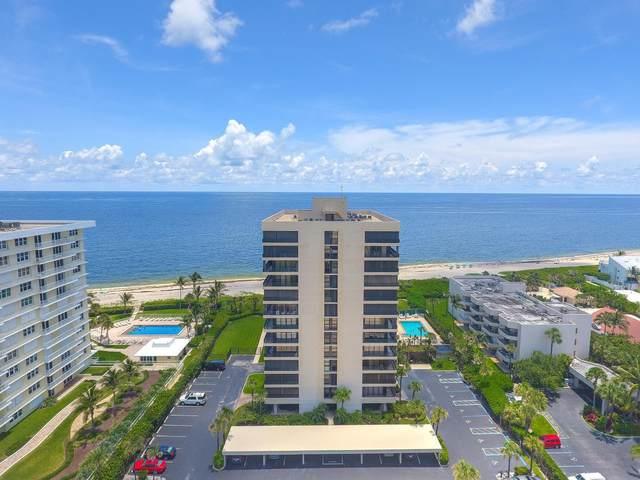450 Ocean Drive Ph4, Juno Beach, FL 33408 (MLS #RX-10655949) :: Laurie Finkelstein Reader Team