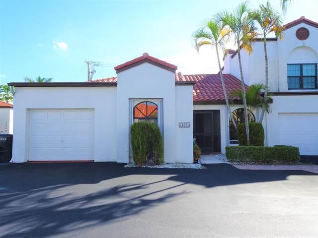 13528 Fountain View Boulevard, Wellington, FL 33414 (#RX-10656006) :: Treasure Property Group