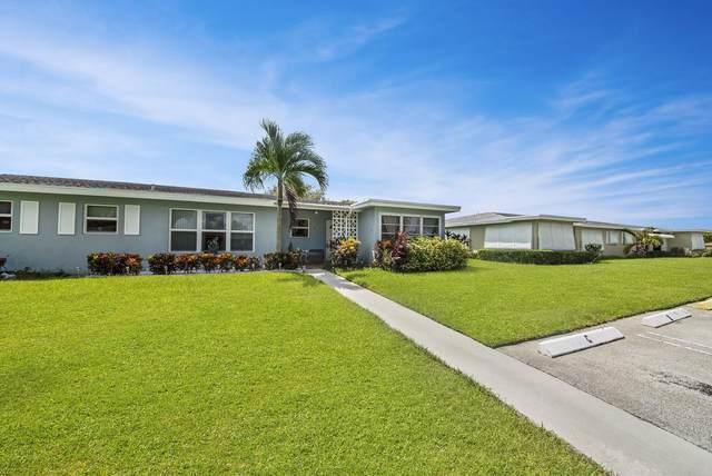 260 High Point Court D, Boynton Beach, FL 33435 (MLS #RX-10656028) :: Berkshire Hathaway HomeServices EWM Realty