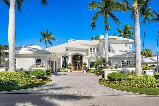 329 Royal Palm Way, Boca Raton, FL 33432 (MLS #RX-10656414) :: Berkshire Hathaway HomeServices EWM Realty
