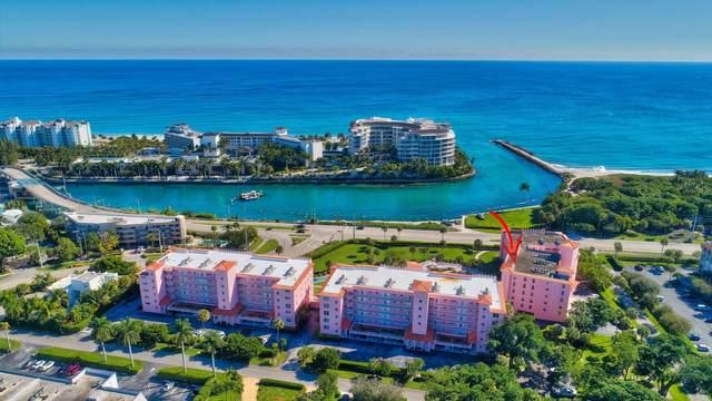 1099 S Ocean Blvd Boulevard 205-S, Boca Raton, FL 33432 (#RX-10656460) :: Ryan Jennings Group