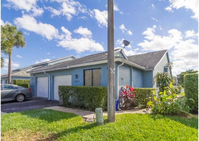 3947 Island Club Circle W, Lake Worth, FL 33462 (#RX-10656475) :: Treasure Property Group