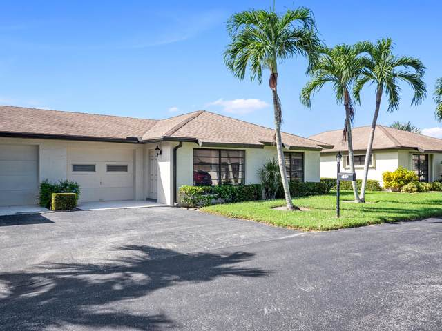 4857 Equestrian Circle B, Boynton Beach, FL 33436 (#RX-10656487) :: Treasure Property Group