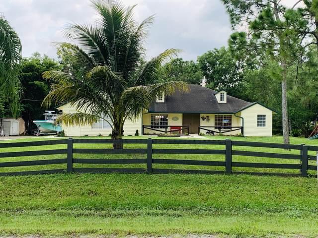 16058 E Alan Black Boulevard, Loxahatchee, FL 33470 (#RX-10656570) :: The Rizzuto Woodman Team